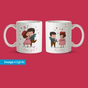 Couple mug design 01